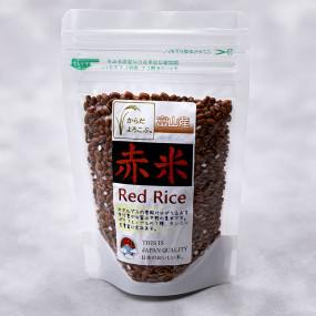 Yu-yake mochi red sticky rice Rice