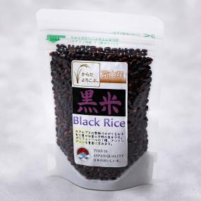 Riz gluant noir Asamurasaki Le riz