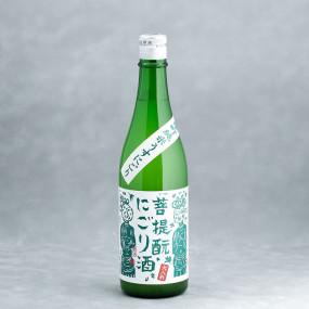 """Gozenshu """"Bodaimoto Nigori"""" Hi-ire sake"""