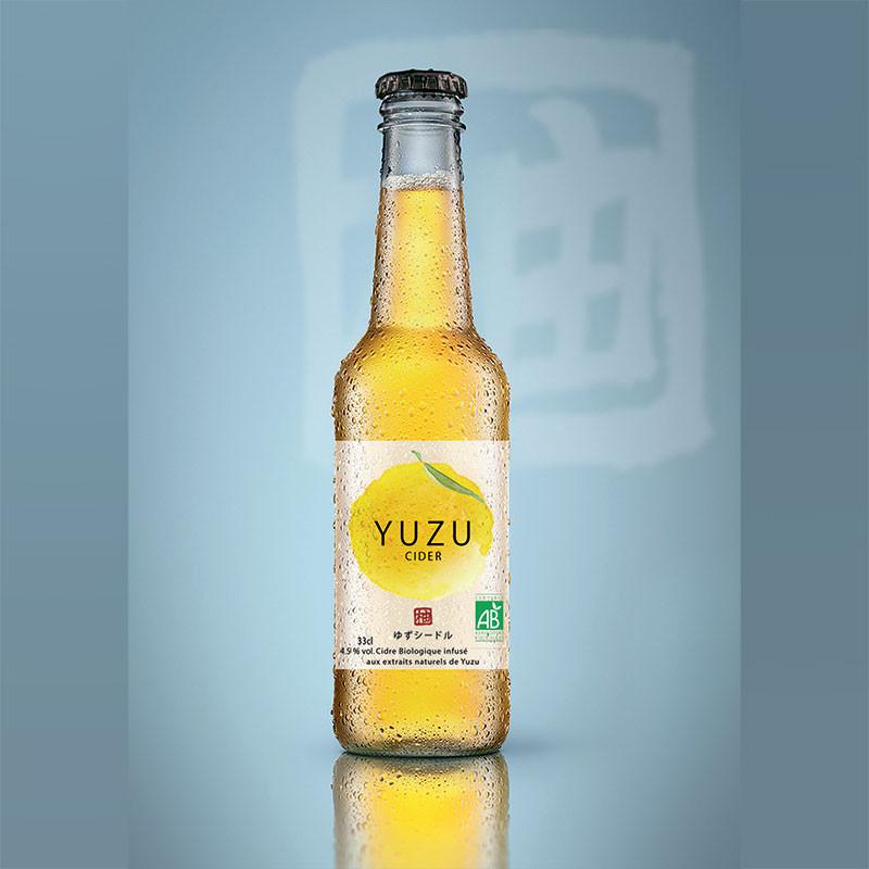 Cidre au Yuzu Bio*