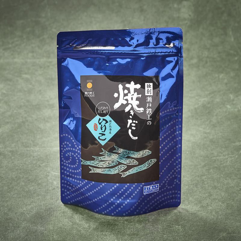 """Baby """"Iriko"""" anchovies Yakidashi broth"""