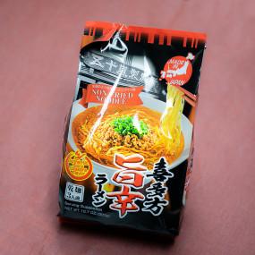 Instant Kitakata Spicy Umakara soy sauce ramen