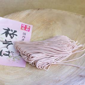 Sakura flavored soba Soba