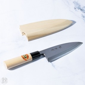 Kasumitogi Deba knife for fish and poultries 135 mm blade - right hand Japanese knives