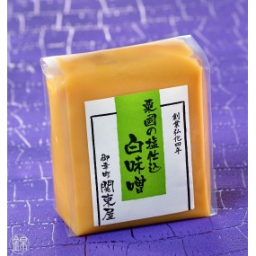 Miso blanc SHIRO MISO au sel de Okinawa 500 g