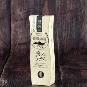 Black rice udon - Bijin Udon Kuromai  Noodles