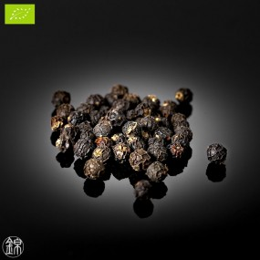 Organic whole black pepper from the Bolaven plateau *
