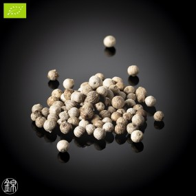 Organic white pepper from the Bolaven plateau *