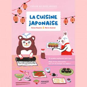 La Cuisine Japonaise, l'atelier des petits cuistots  Librairie