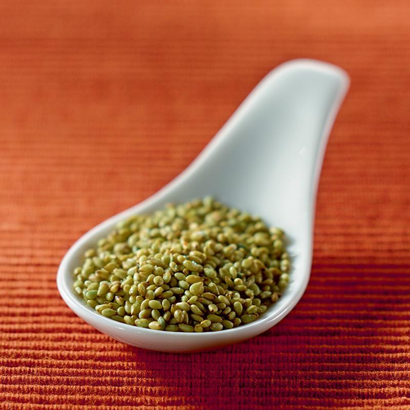 Graines de sésame torréfiées aromatisées au Wasabi