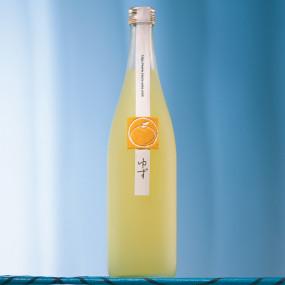 Tsuru-ume Yuzu flavored sake