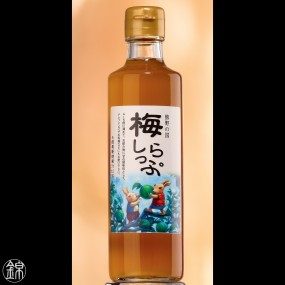 Green Ume plum syrup Japanese fruits