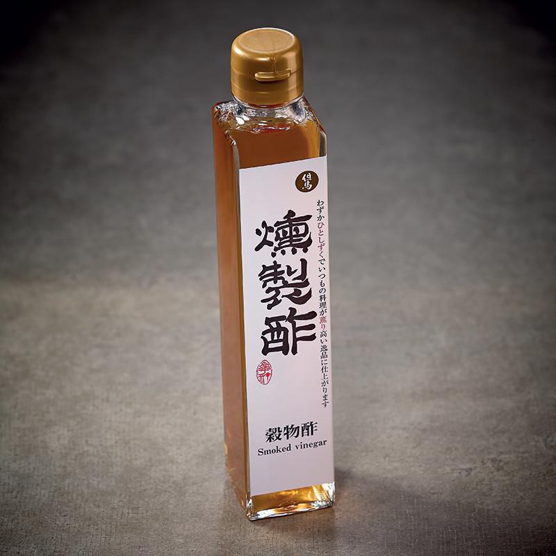Vinaigre d'alcool et de riz fumé au bois de cerisier