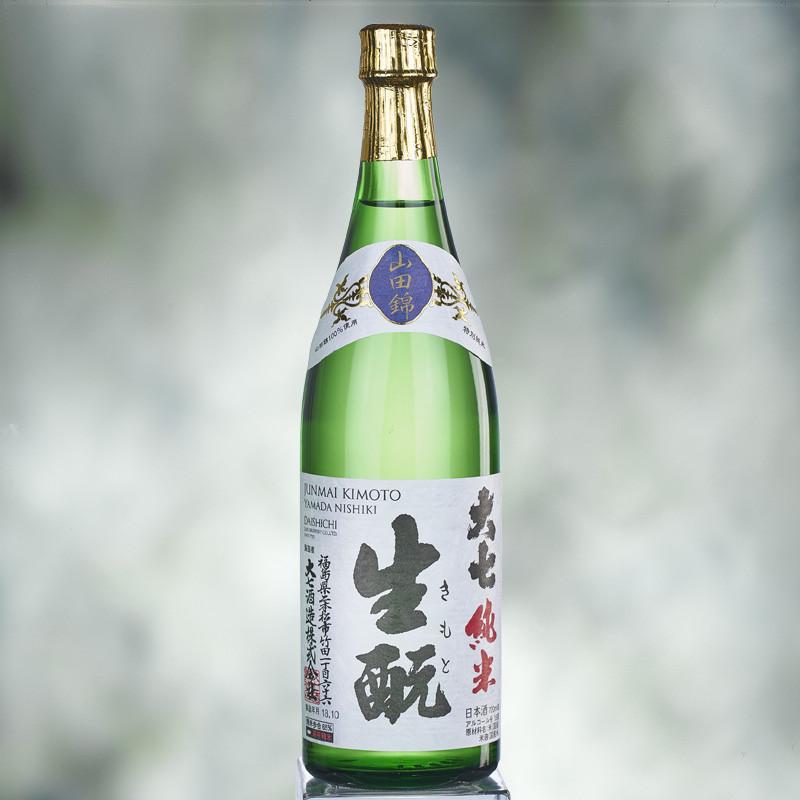 Daishichi Junmai Kimoto Yamadanishiki sake Sake
