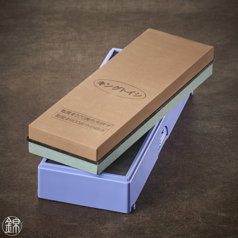 Water sharpening double sided sharpening stone, for first sharpening