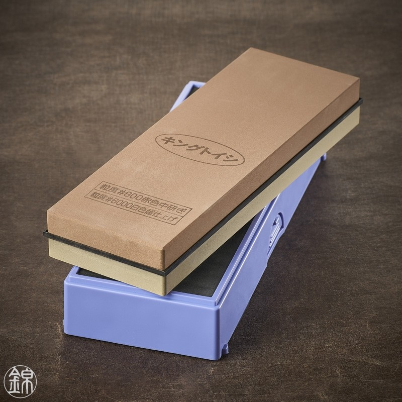 Water sharpening double sided sharpening stone, for sharpening finishing