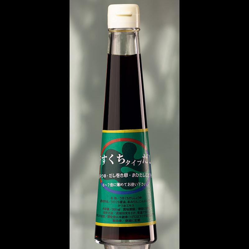 Sauce soja Tsuyu Kamebishi à la bonite séchée