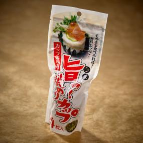 Coupelle ronde de nori (x24)