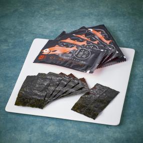 Algue nori grillée goût Nodoguro