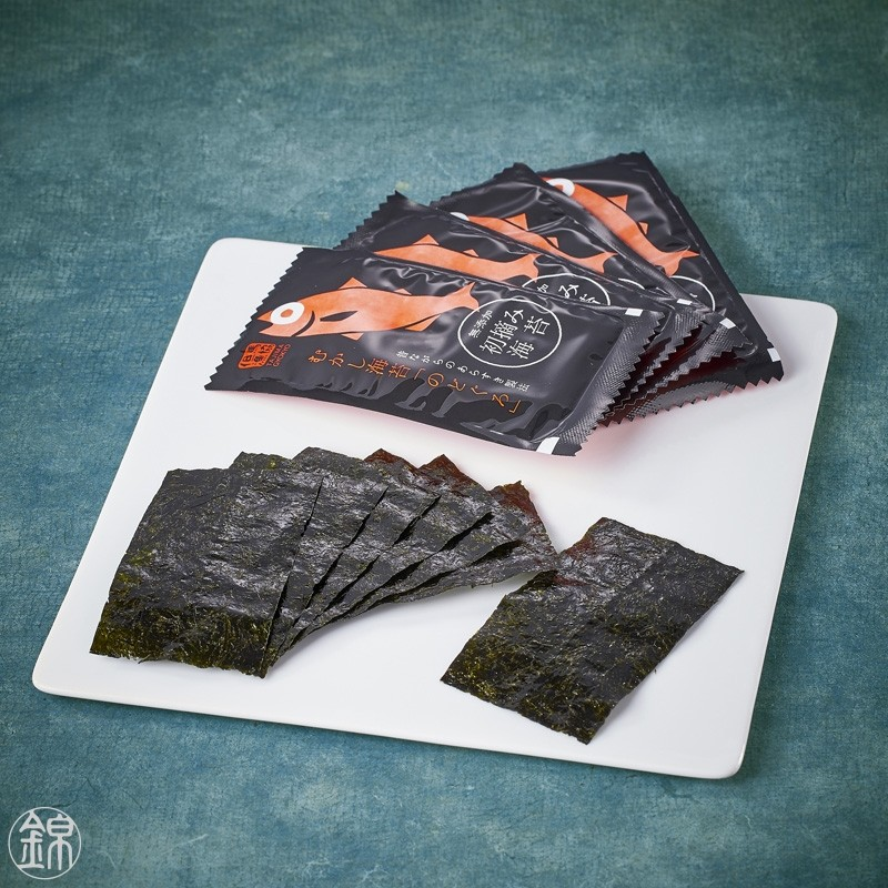 Nodoguro fish flavored grilled nori seaweed