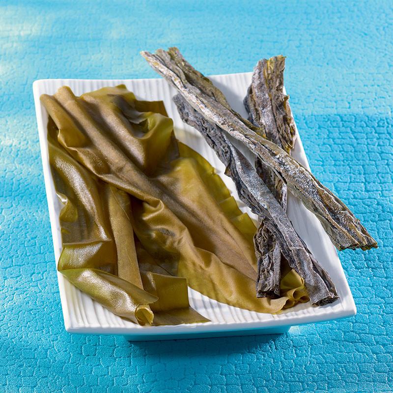 Jeune algue Kombu tendre