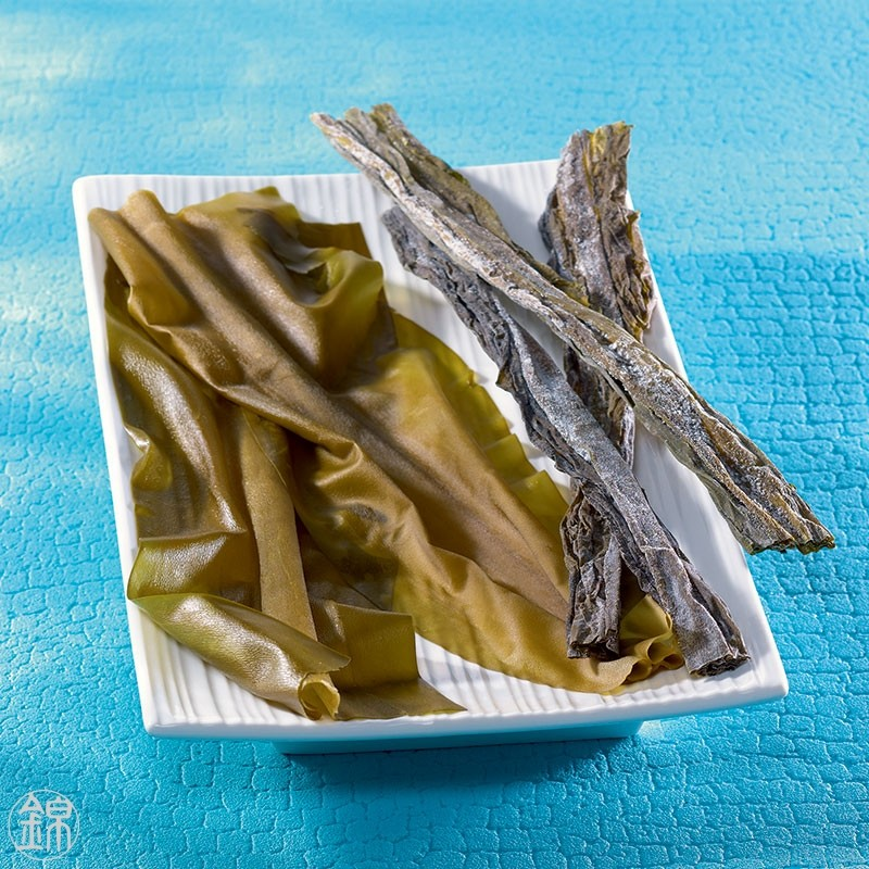 Young soft Kombu seaweed