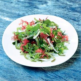 Salade d'algues supérieures Salade d'algues