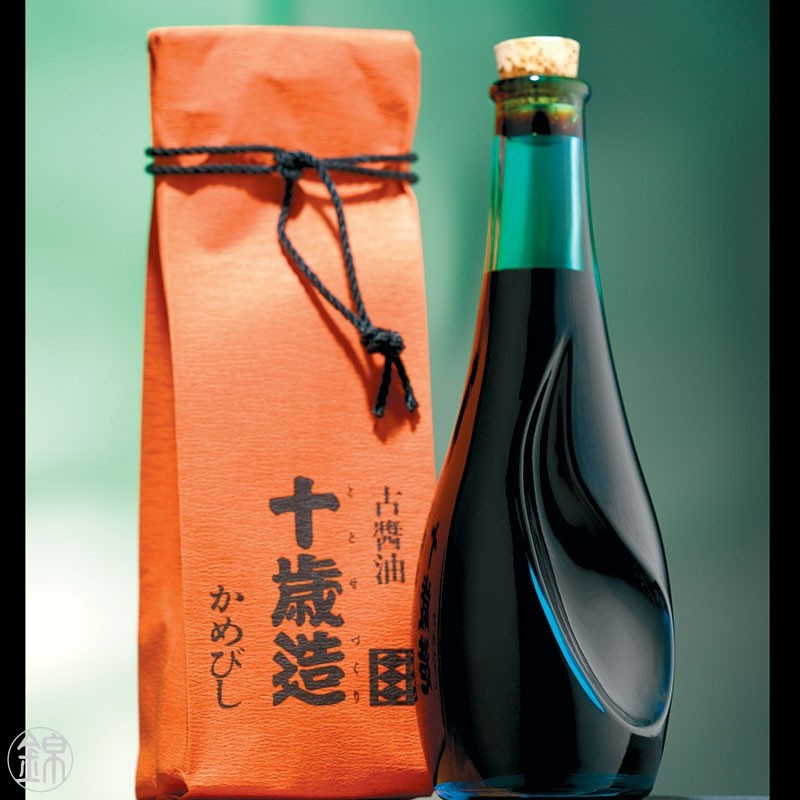 10 years aged brewed shoyu soy sauce