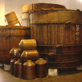 Edo-Tannensu sake lees red vinegar condiment