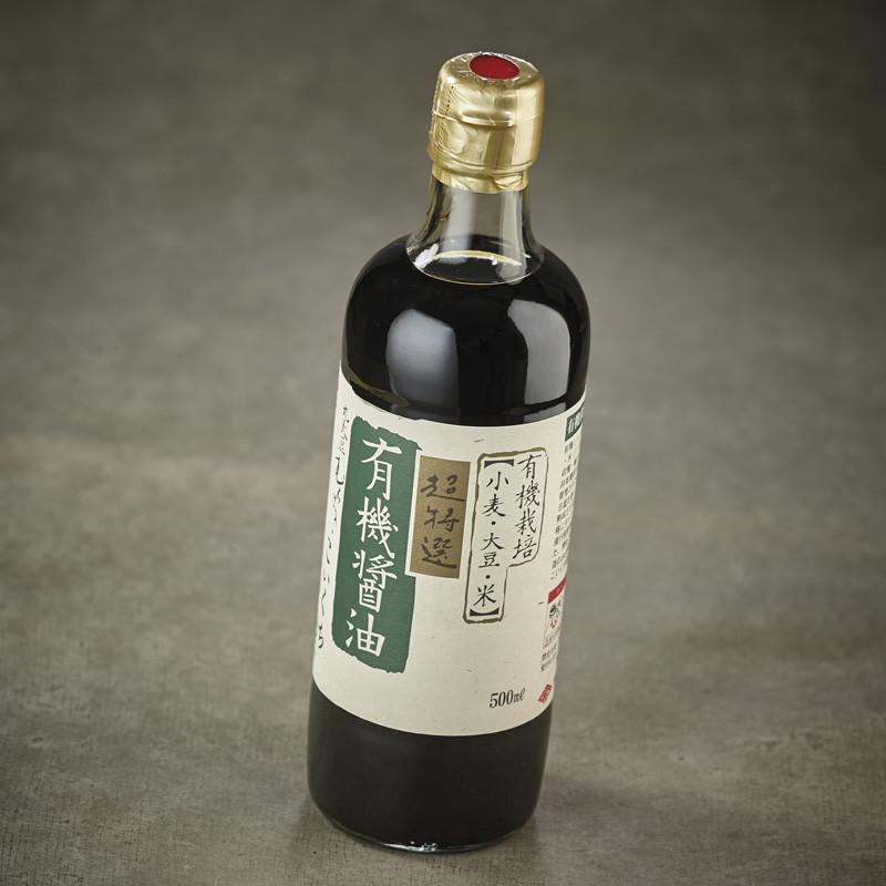 Organic soy sauce*