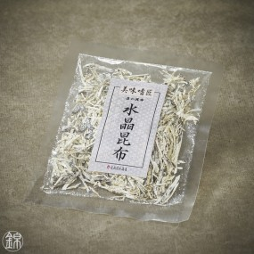Algue kombu vinaigrée rabotée émincée Suisho Kombu