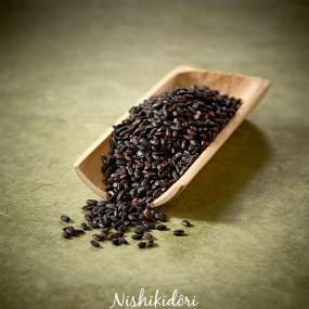Riz noir ancien, cultivé sans pesticide