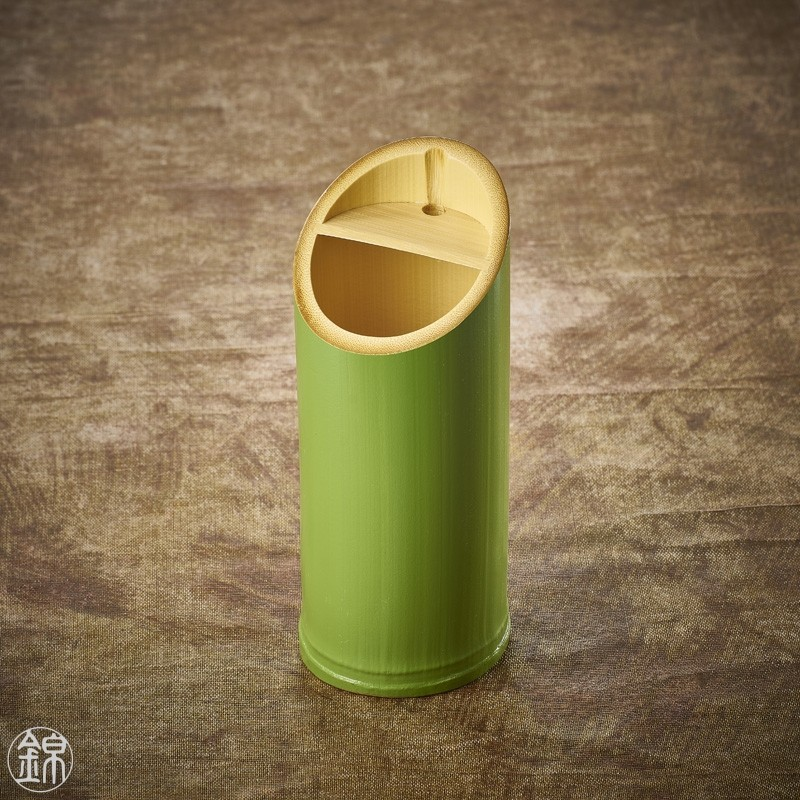 Wakatake bamboo sake serving flask