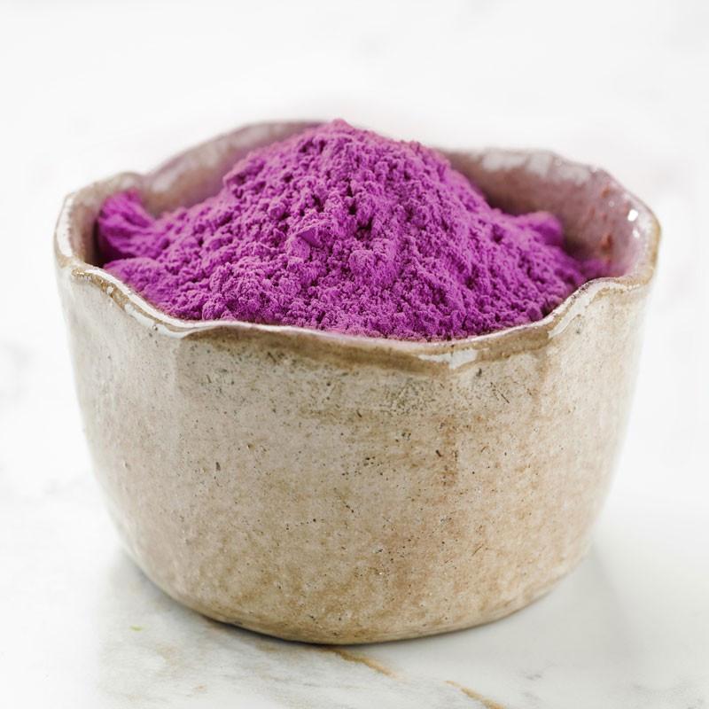 Poudre de patate douce violette Ayamurasaki Assaisonnement en poudre