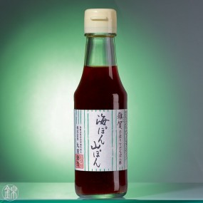 Condiment Umipon Yamapon au vinaigre de riz et agrume Sudachi