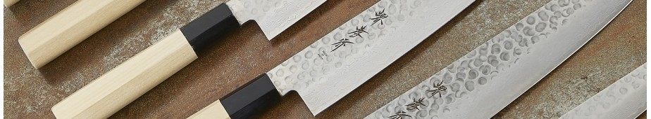 Japanese knives Damascus series 45 layers hammered