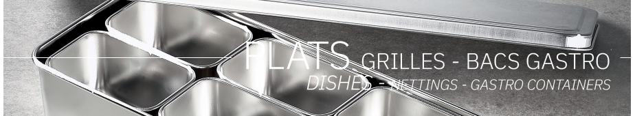 Dishes - nettings and gastro containers