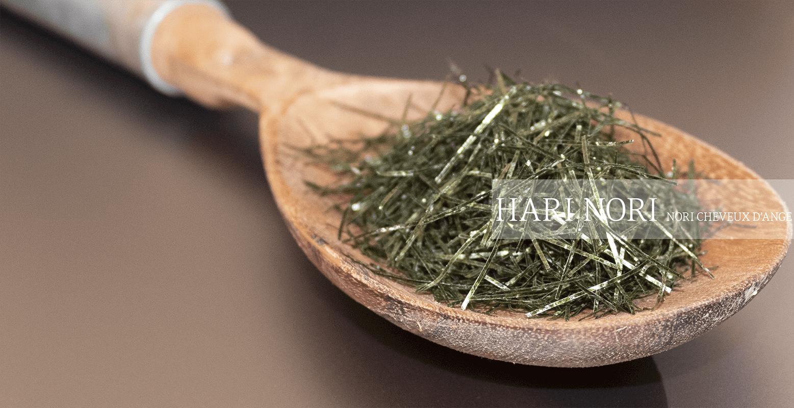Algues nori taillées en cheveux d'anges Hari nori