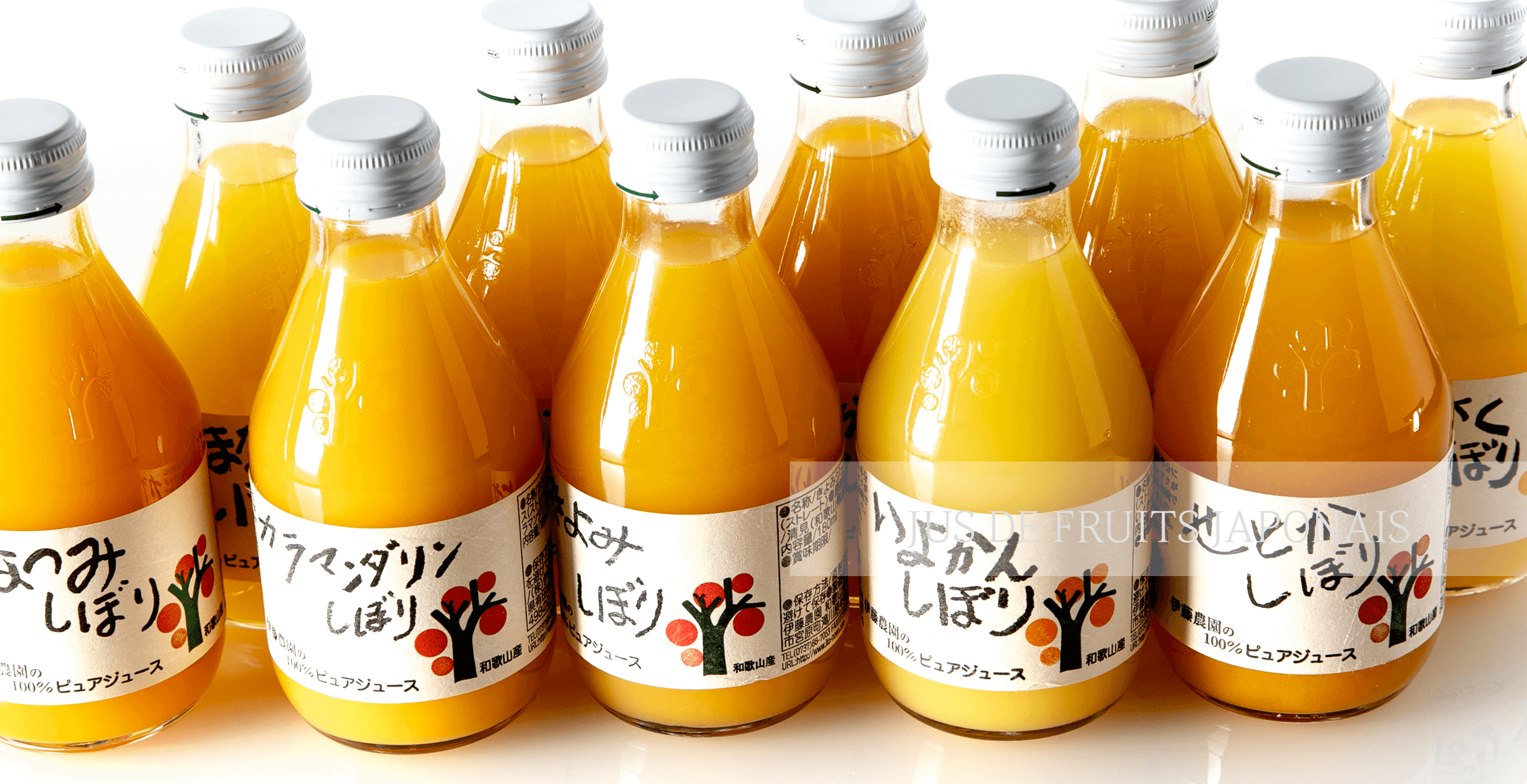 Jus de fruits japonais